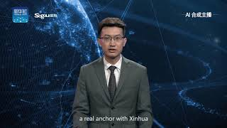 Xinhua's first English AI anchor makes debut