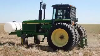 1990 John Deere 4755 tractor for sale at auction   bidding closes September 11, 2019