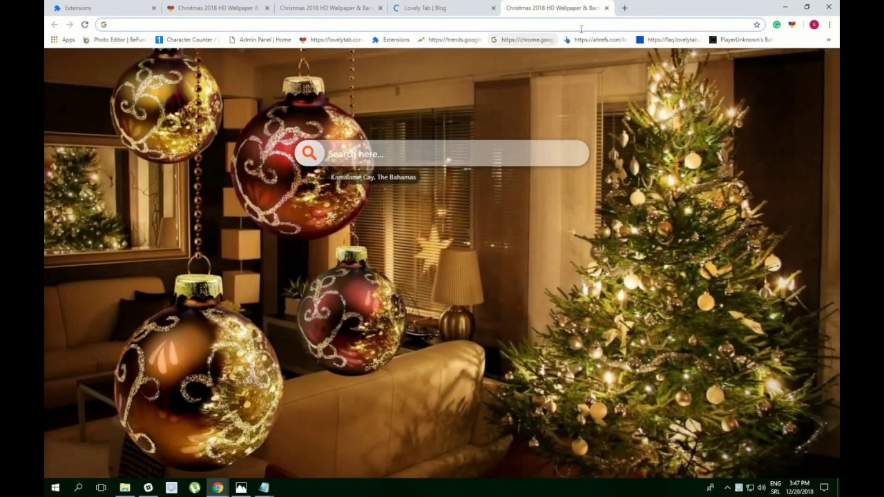 Christmas 2018 Hd Wallpapers For Chrome Must Have Youtube