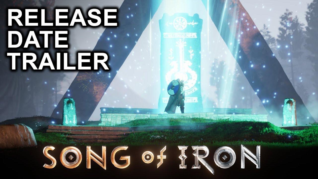Song of Iron - Release Date Trailer - Gematsu