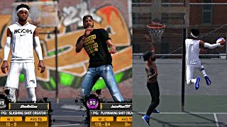 NBA 2K18 MyPARK - FREDDY TAKING OVER THE PARK DUNKING ON EVERYBODY WITH JUICEMAN AND KING SHAWN!! thumbnail