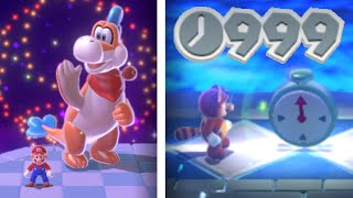 Modifying Super Mario 3D World's Top 10 Hardest Stages to be Easier