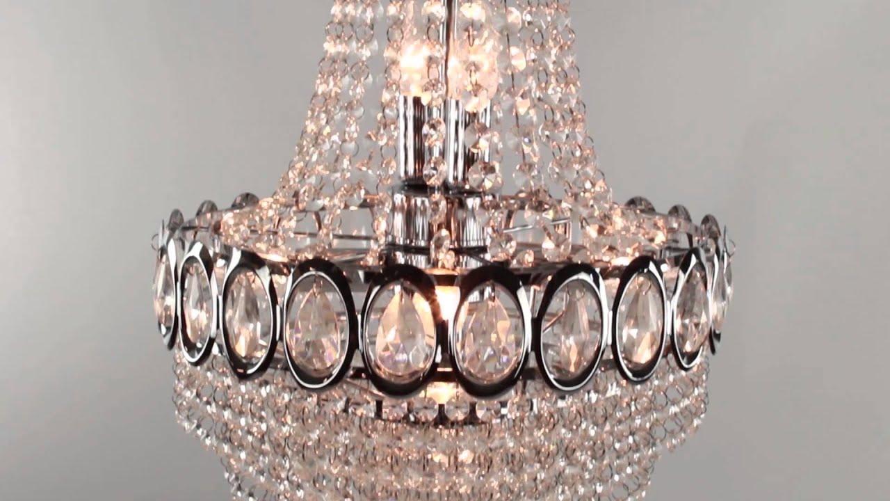 Moderne kroonluchter massive hally straluma youtube for Massive lampen