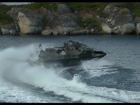 Stridsbåt 90, åkning, skalad, materialutdrag