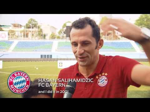 FC Bayern Legend Hasan Salihamidžić (Brazzo)'s Favourite Career Moment!