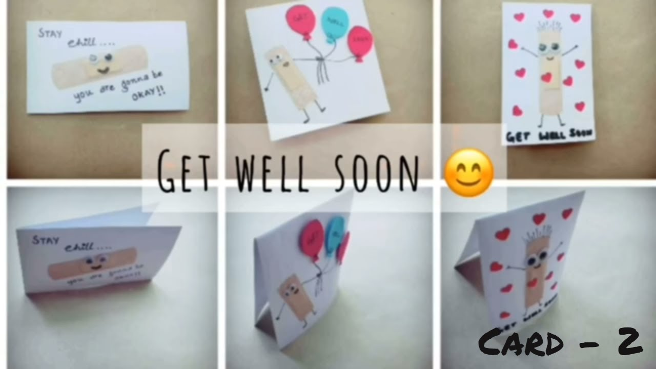 Get well soon card 2 craft for kids easy diy cards for kids get well soon card 2 craft for kids easy diy cards for kids diy greeting card kristyandbryce Gallery