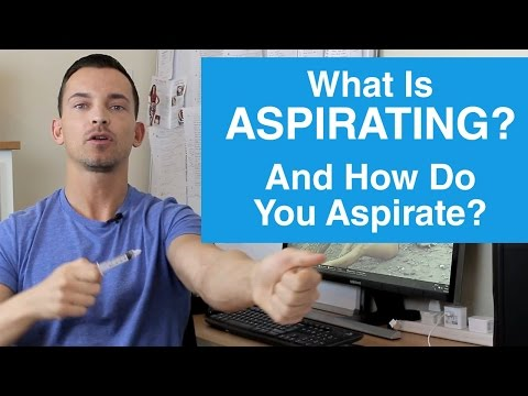 What Is Aspirating And How Do You Aspirate?