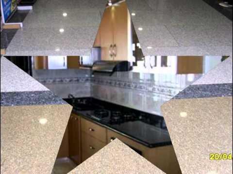Mesadas cubiertas encimeras de cocinas hechas en granito for Granito negro para cocina