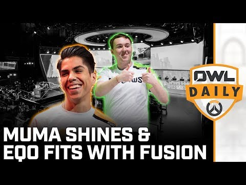 Muma Shines with Houston & Eqo fit for Fusion feat. Jamerson - Overwatch League Daily