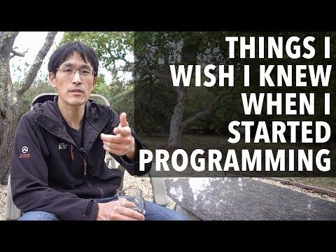 Hal-hal Yang Saya Harap Saya Tahu Ketika Saya Mulai Pemrograman