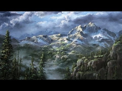 Vast Misty Mountains   Paint with Kevin ®