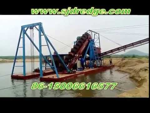 Bucket Chain( Ladder) Auotamation Sand Dredger----(SKYPE:san