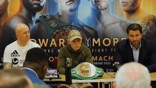 CHARLIE EDWARDS vs Angel Moreno - Post Fight Press Conference