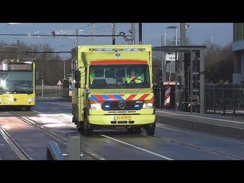 [  2X Ambulance + 1x Micu  09-301] Met Spoed Naar Het UMC In Utrecht