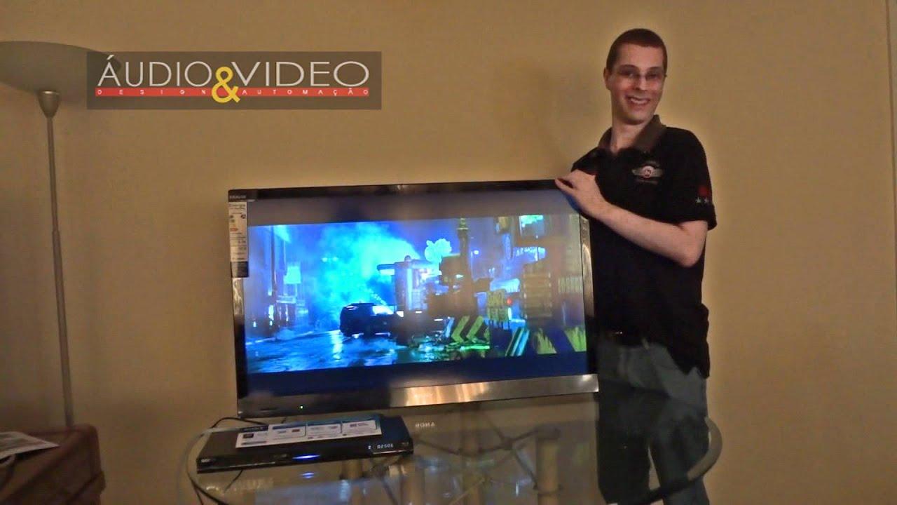 Teste Do Televisor Sony Bravia Kdl 40ex525 Youtube
