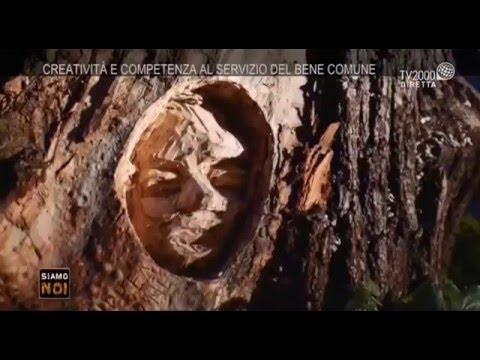 Siamo noi - Roma, Andrea Gandini, l'artista che dà vita agli alberi