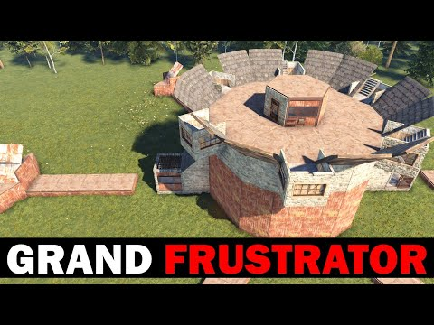 Grand Frustrator - Clan Base with Triple-Stacked, Trapped, Loot Rooms