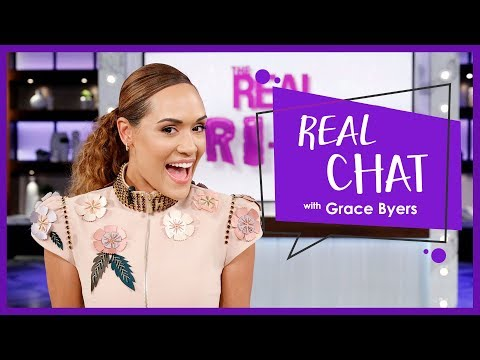 REAL CHAT with Grace Byers