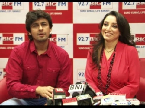 Exclusive :Sonu Nigam Interviewed By Wife For Valentines Day