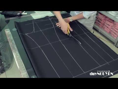 Veston Duy Nguyễn - P2.5 Chia sẻ cách thiết kế và cắt quần âu nam 2 ly dáng slim fit