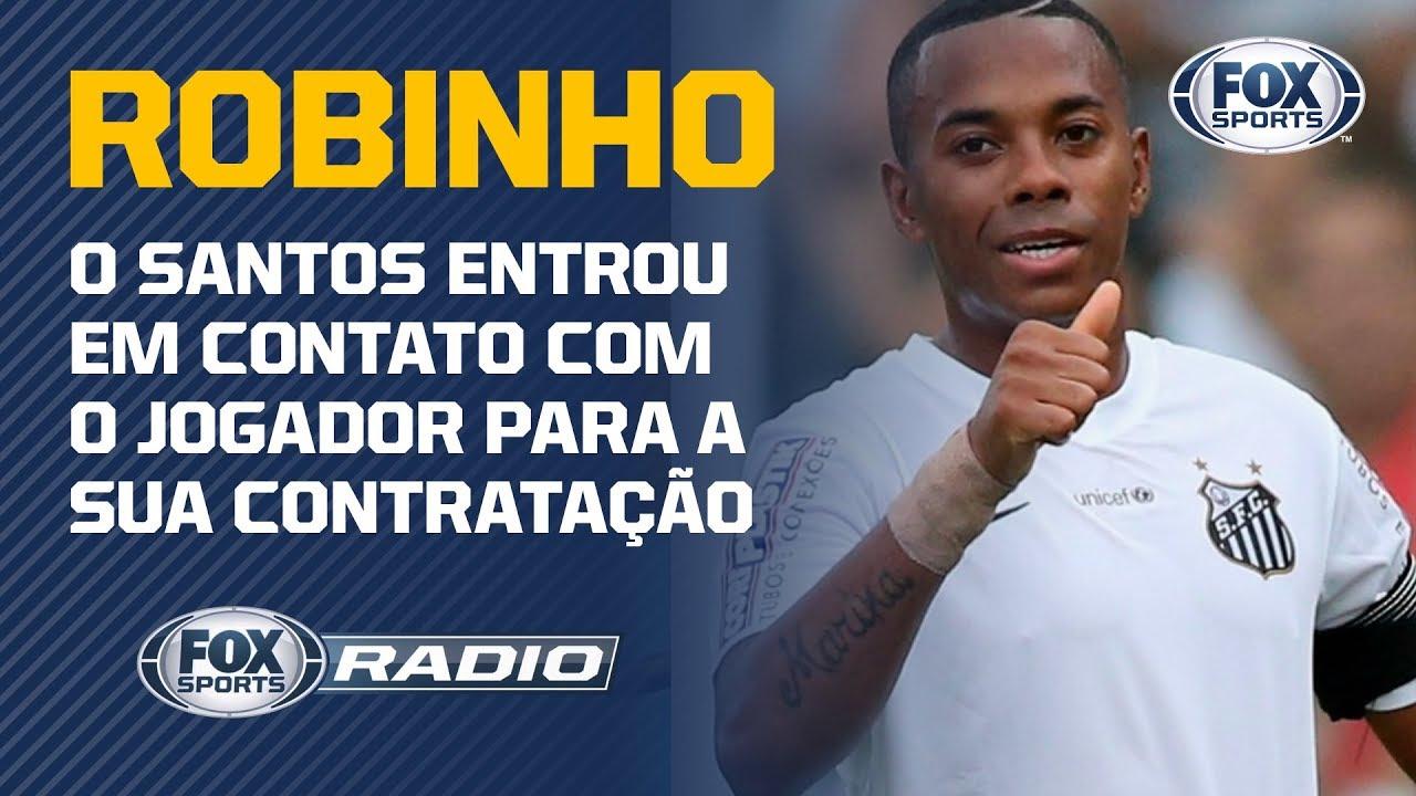 ROBINHO É UMA BOA PARA O SANTOS? Veja debate no FOX Sports Rádio