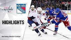 NHL Highlights | Capitals @ Rangers 3/5/20