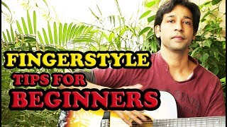 FINGERSTYLE GUITAR  TIPS FOR BEGINNERS BY VEER KUMAR (HINDI)