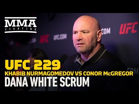 UFC 229: Dana White Says Conor McGregor Is Better At 'Mental Warfare' Than Muhammad Ali