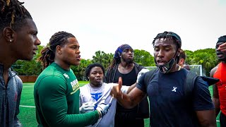 WE DID 7ON7S IΝ THE HOOD AND THINGS GOT HEATED! (WINNER GETS $1000)