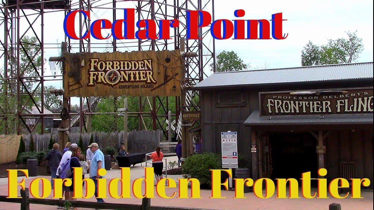 Cedar Point Forbidden Frontier And Monster Jam Alley Youtube
