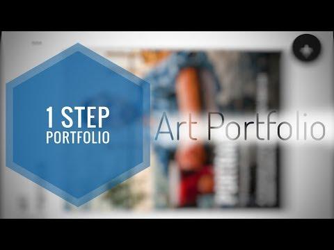 1 Step Portfolio - Art Portfolio