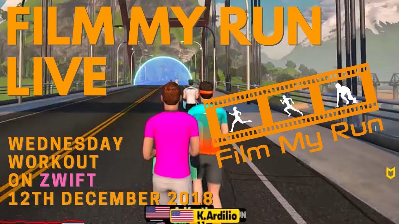 Zwift Running LIVE   Monday Run Club LIVE - YouTube