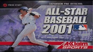 All-Star Baseball 2001 Intro