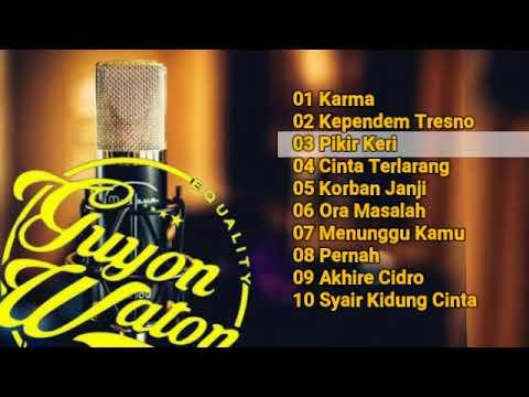 Guyon Waton Full Album Kumpulan Lagu Guyon Waton Paling Galau