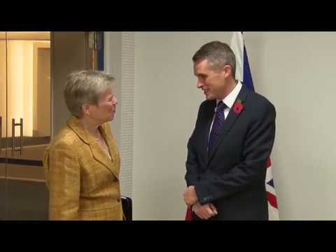 United Kingdom Bilateral Meeting, North Atlantic Council Meetings at NATO HQ