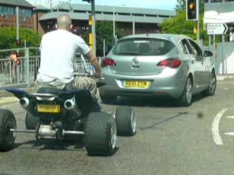 Quad Bike Basingstoke Road Reading Town Centre Youtube