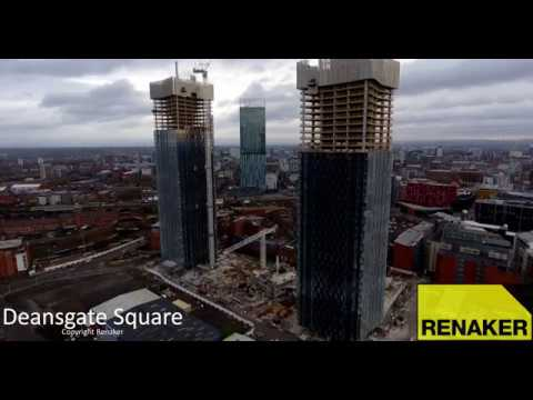 Deansgate Square - April 2018 - Courtesy of @Renaker