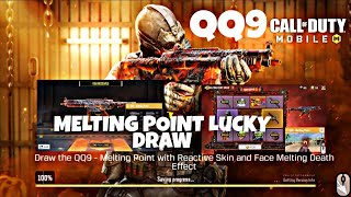 Call Of Duty Mobile: *NEW* *QQ9 Melting Point *Purchasing *Lucky Draw !!!