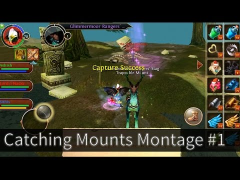 Order And Chaos Online Catching Mounts: Montage Part -1