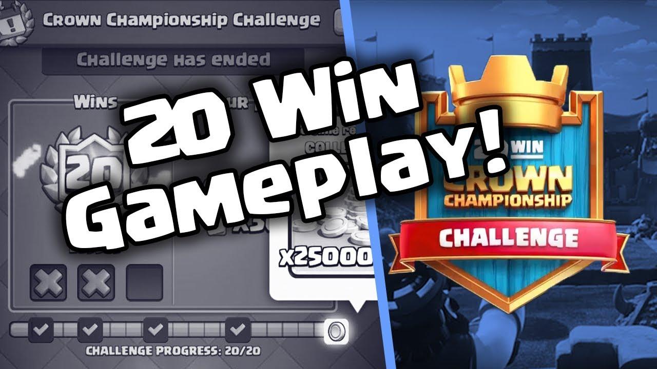 20 Win Crown Championship Challenge Deck Best Hog Deck