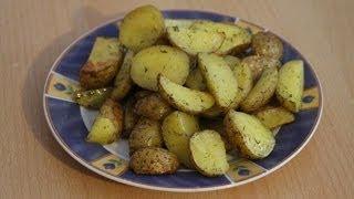 Рецепт-Запеченный картофель в кожуре от videokulinaria.ru