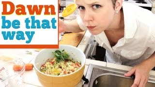 Dawn Be That Way - Nataly Dawn Makes Tabbouleh Salad