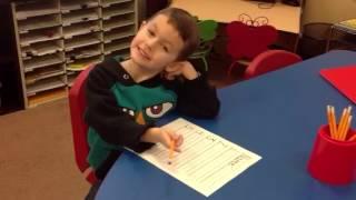 Prek Spelling Test Kinderbugs Preschool