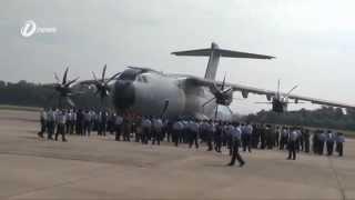Pesawat Baru TUDM Airbus A400M Atlas Akan Lakukan Terbang Lintas Lima Langkawi 2015