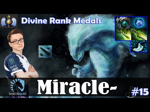 Miracle - Morphling MID | Divine Rank Medals | Dota 2 Pro MMR Gameplay #15