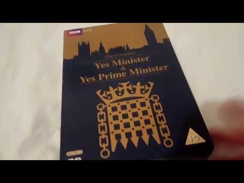 YES MINISTER and YES PRIME MINISTER DVD Unboxing Review