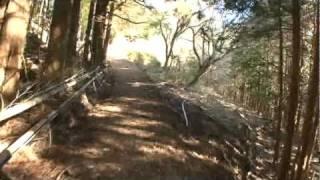 B038【世界遺産】熊野古道・中辺路-6<高原熊野神社~一里塚跡>