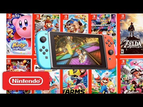 Nintendo Switch - Play Together Anytime, Anywhere Extended Trailer