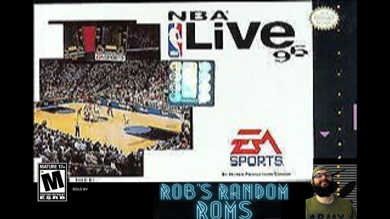 NBA Live '96   SNES   Rob's Random Roms