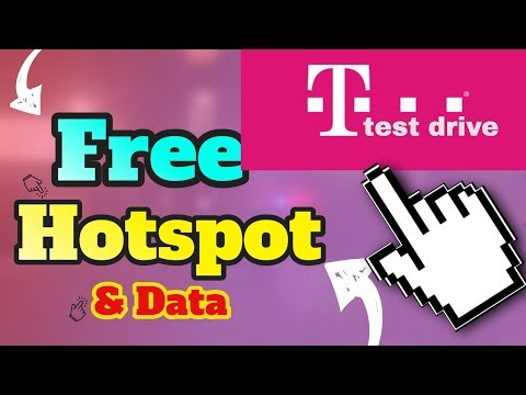 Free Hotspot And Data/ T-mobile Test Drive/ Next Game Changer??